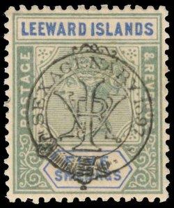 Leeward Islands Scott 16 Gibbons 16 Mint Stamp
