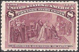 236 Mint,OG,LH... SCV $47.50