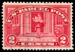 MOMEN: US STAMPS #Q2 USED XF-SUP