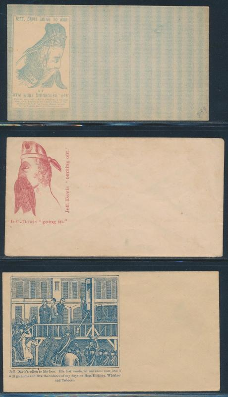 #CPJ35 // 74 (11) DIFF. UNION CIVIL WAR PATRIOTIC COVERS (MINOR FLAWS) BR4757