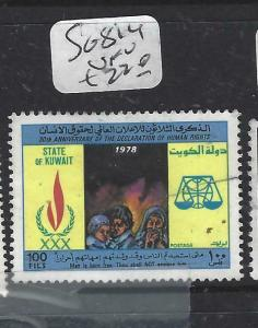 KUWAIT  (P0705BB)   UN  HUMAN RIGHTS  SG  814   VFU