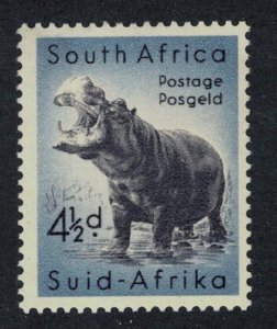 South Africa Hippopotamus 4 ? d SG#157