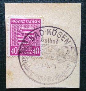 Germany Provinz Sachsen Mi 84