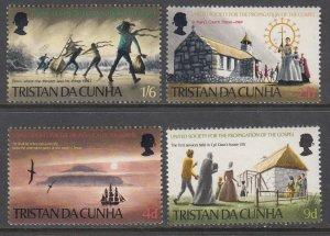 Tristan da Chuna 128-131 MNH VF
