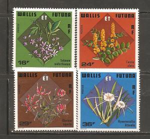 Wallis and Futuna Island 210-13 Mint Never Hinged