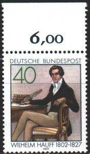 Germany. 1977. 954. In memory of the writer Wilhelm Hauf. MNH.