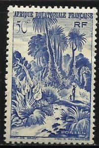 French Equatorial Africa 1946 Scott# 169 MH