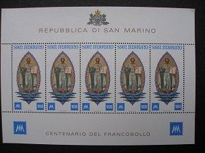 1977 - Centenary of San Marino - MNH
