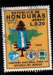 Honduras  Scott C483 Used airmail