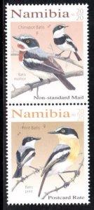 Namibia - 2020 Batises Birds Set MNH**