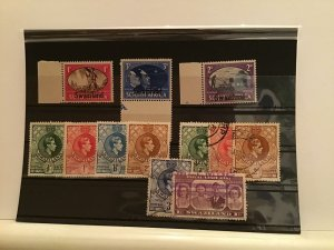 Swaziland mounted mint used and no gum  stamps R21757