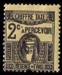 Tunisia (Africa) Scott # J13 MH,NG FINE