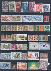 46 WW MINT  STAMPS STARTS AT A LOW PRICE!