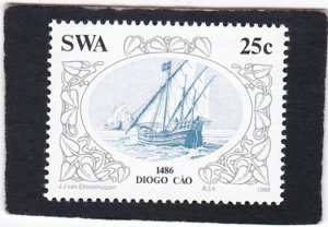 South West Africa,  #   554    unused