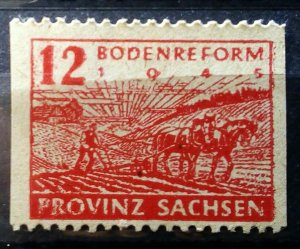 Germany Provinz Sachsen 86 B Plate Flaws