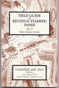 Field Guides Revenue Stamped Paper Part 1-7 Unused Complete Sets