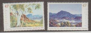 Australia Scott #1306a-1306b Stamp - Mint NH Set