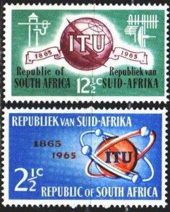 South Africa. 1965. 344-45. Communication. MNH.