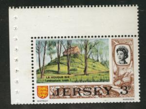 Jersey Scott 34a booklet pane of 1 MNH** 1970