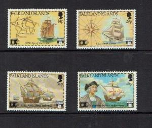 Falkland Is: 1992, 500th Anniversary Columbus Discovery of America, MNH
