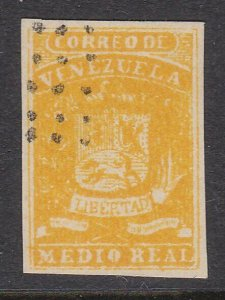 VENEZUELA  An old forgery of a classic stamp................................D808