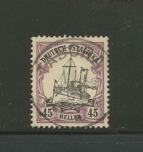 German East Africa, Mi # 28b, Used, XF. Steuer BPP. CV € 110.00