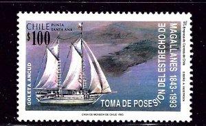 Chile 1072 MH 1993 Ship    (ap2690)