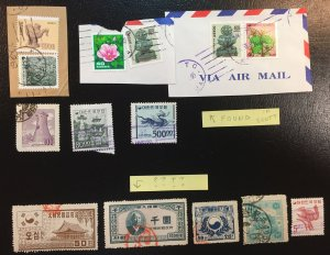 South Korea LOT (small lot of stamps)