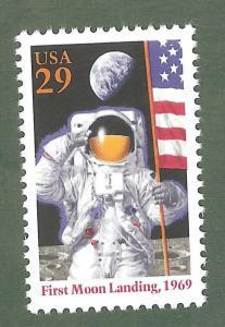 2841a Moon Landing US Single Mint/nh FREE SHIPPING