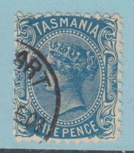 TASMANIA 98c perf 11 USED NO FAULTS VERY FINE!