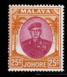 Malaya Jahore Scott 143 MH*