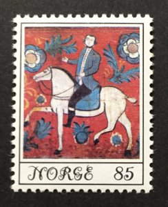 Norway 1974  #645, Folk Art, MNH.