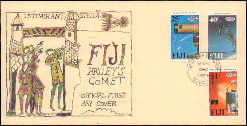 Fiji, First Day Cover, Space