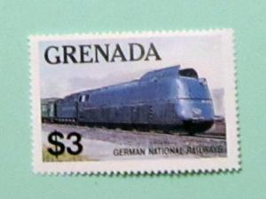 Grenada - 1125, MNH. Train. SCV - $3.00