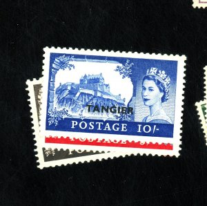 GB OFFICES IN MOROCCO #576-8 MINT VF OG VLH Cat $27