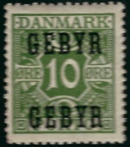 Denmark Sc L1 VF Mint OG...Grab a Bargain!