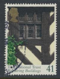 Great Britain SG 1872  Used  - National Trust