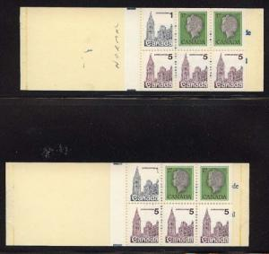 Canada - 1979 50c Booklet with UNLISTED VARIETY #BK80a