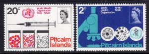 Pitcairn Islands 95-96 WHO MNH VF