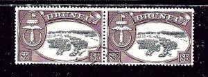 Brunei 114 Used 1970 Pair