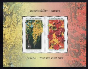 Thailand  Scott 2090c MNH** souvenir sheet Joint Issue with Canada