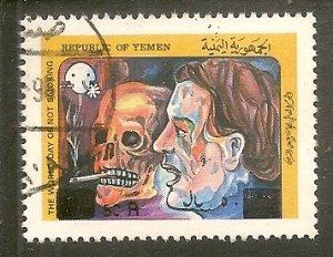 Yemen   Scott 626   Surcharge    Used