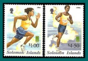 Solomon Islands 2000 Sydney Olympic Games, MNH 901-902,SG973-974