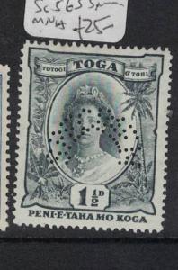 Tonga Specimen SG 56s MNH (5dqj)