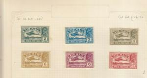 INDIA 1929 GEORGE 5TH AIR MAIL SET MINT
