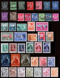 Yugoslavia Scott 102 // 314 (1934-51) Used/Mint H F-VF, CV $12.15