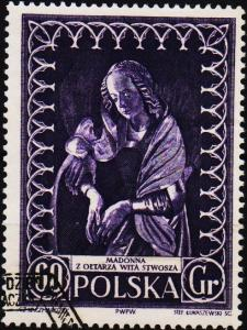Poland. 1956 60g S.G.985 Fine Used