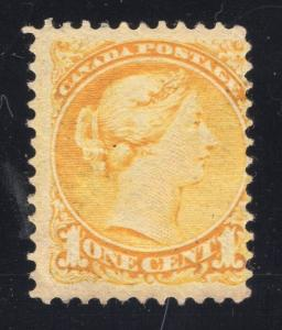 Canada #35 Yellow - Mint - O.G.- N.H.