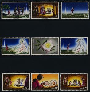 Nicaragua C813-21 MNH Christmas, Legend of the Christmas Rose