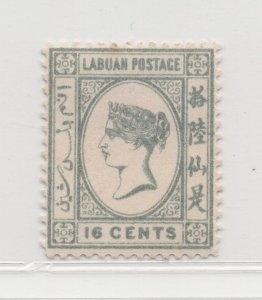 Malaya Labuan - 1894 - SG56 - 16c - MH #680